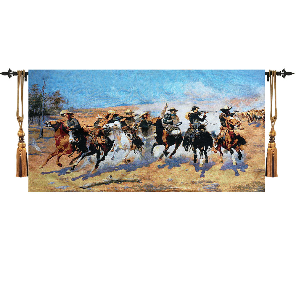 60x118cm American West Cowboy Wall Tapestry Wall Hanging Decorative Home Moroccan Decor Wall Cloth Tapestries goblen