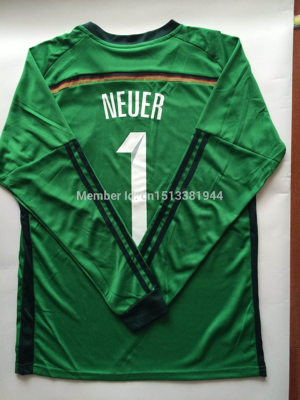 7d2d5668118 Germany neuer jersey-- high quality Germany soccer jersey 2014 with 4 stars  number team germany soccer jersey for men