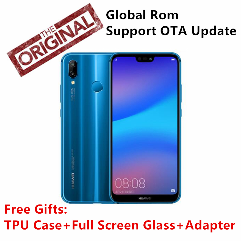 Global Rom Huawei Nova 3e P20 lite 4G 64G Octa Core 5 84 inch 3000mAh 2280
