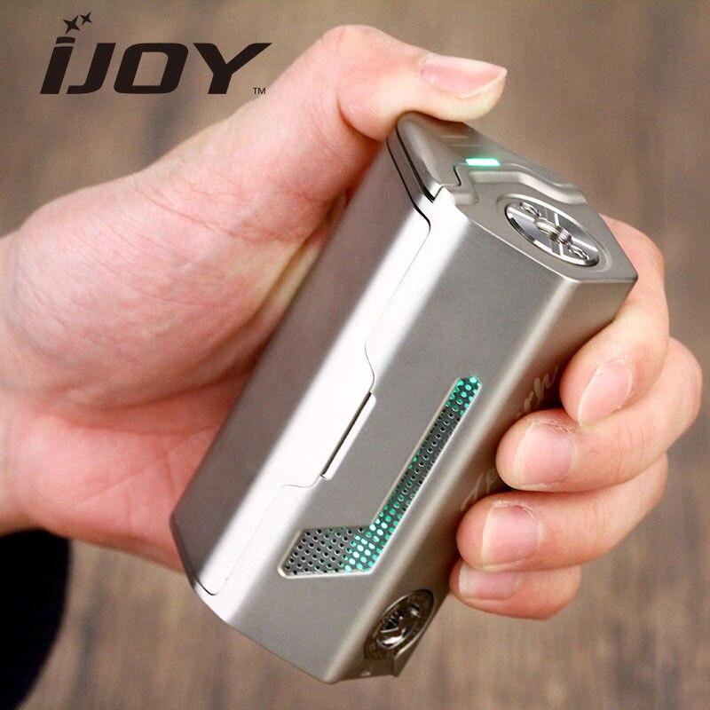 Authentic 300W IJOY MAXO Zenith VV Box MOD MAXO Zenith Mod with Unique Big Fire Button & IWEPAL Chip Electronic Cigarette Mod