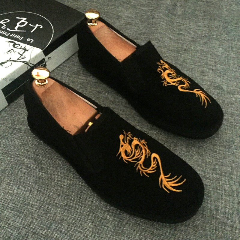 SIKETU 2017 de hombre Hecho A Mano zapatos de tela Hombres Zapatos Pisos Lace Up
