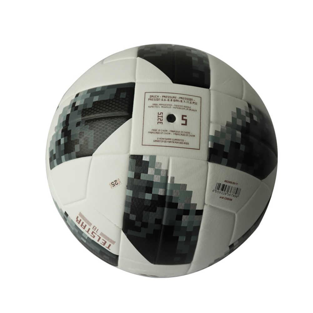 2018 премьер футбольный мяч Официальный Размер 5 Футбол ПУ Официальный  Футбол Voteball Лига чемпионов тренировочный мяч 3cb62b1f600