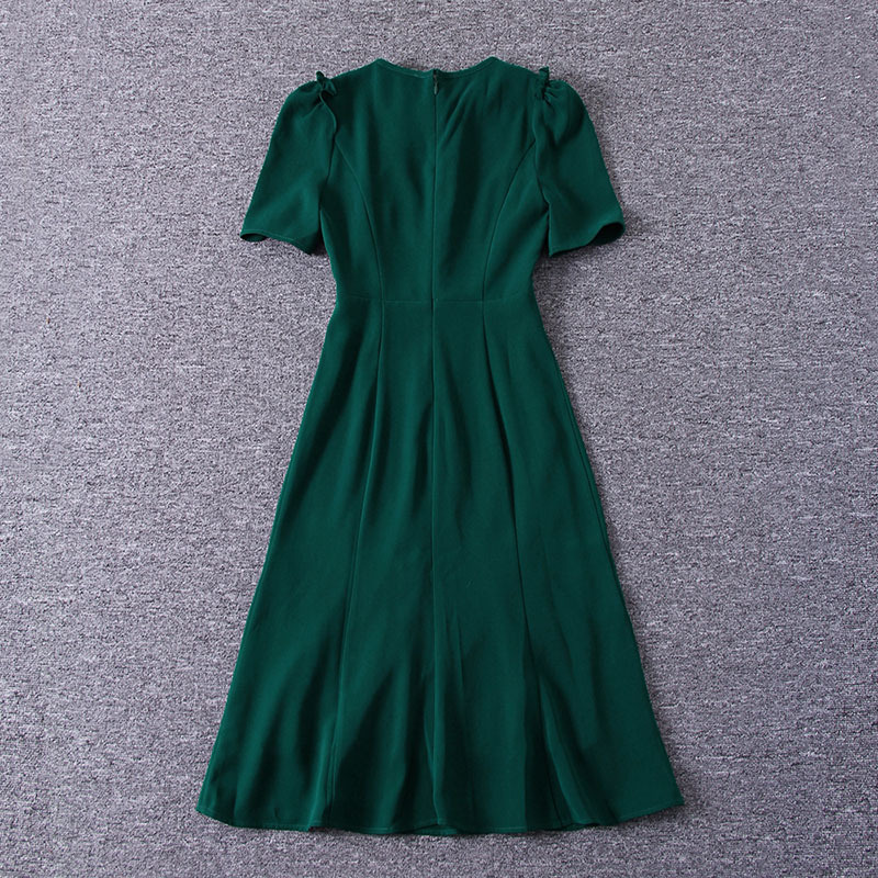 Princess Kate Middleton Dress 2019 Woman dress Spring Short Sleeve O-Neck Mermaid Elegant Dresses Work Wear Clothes SAD185AS