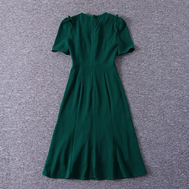 Abiti Di deep O Middleton Principessa Bicchierino Manicotto Usura Green  2019 Elegante Della Dress Del red Primavera Vestito ... eb52ca8a649