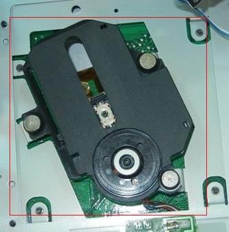 Laser head   CD-01U laser head h8151af