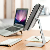 Creative Aluminum Alloy Tablet Holder Rotating Stretchable Big for Phone iPad Stand Mount Bracket Supplies