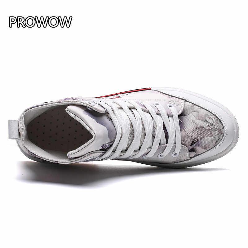 Impressão requintado 3D Nove-tailed fox/veneno pano Sapatos Sapatilhas Dos Homens Sapatos Casuais calçados esportivos zapatos de hombre tenis masculino