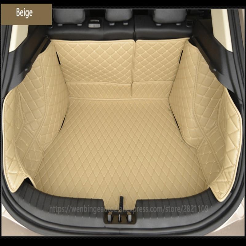 custom car trunk mat Cargo Liner for Audi all model a6 c7 a5 q3 tt cc a3 8v a4 b7 b8 b9 q7 q5 car styling auto accessories