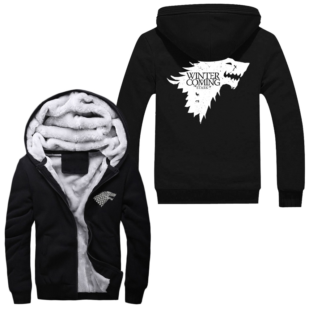 Aliexpress.com : Buy WISHOT A Song of Ice and Fire Zip Hoody Game ...