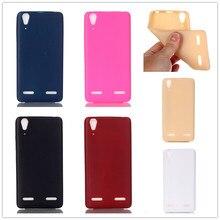 """Qualidade de luxo caso de telefone tpu macio para lenovo a6010 plus & a6000 & para lenovo lemon k3 k30-t capa da pele 5 """"K 3 A 6000 6010"""