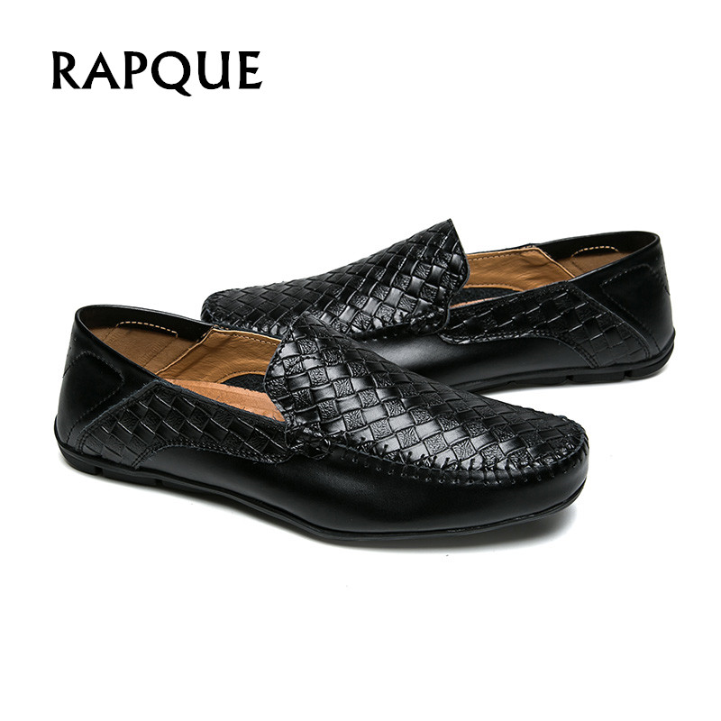 Casual shoes mens leather loafers summer dress plus size flats sneakers sapato masculino zapatos hombre fashion shoe men RAPQUE men shoes canvas zapatos hombre 2016 new shoe mens chaussure fashion casual sapato masculino spring autumn man sapatos light