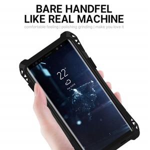 Image 5 - AMIRA Chống Sốc Nặng Lai Rugged Armor Ốp Lưng điện thoại Samsung Galaxy S10 S8 S9 Plus Note 8 9 Carbon sợi