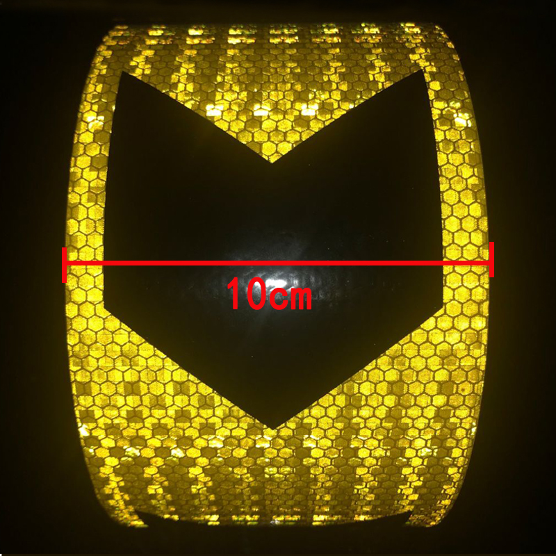 10cm Width   High Quality Car Accessories Reflective Car Stickers Adhesive Tape For Car Safety