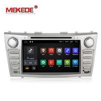 Низкая цена 1024*600 2Din Android7.1 2 Гб Оперативная память автомобильный DVD для Toyota Camry Aurion v40 2007 11 автомагнитолы с google play