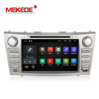 Low price 1024*600 2Din Android7.1 2GB RAM Car DVD For TOYOTA CAMRY AURION v40 2007 11 auto radio with google play