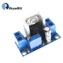 Frete grátis lm317 módulo DC-DC dc conversor buck placa de circuito regulador linear ajustável
