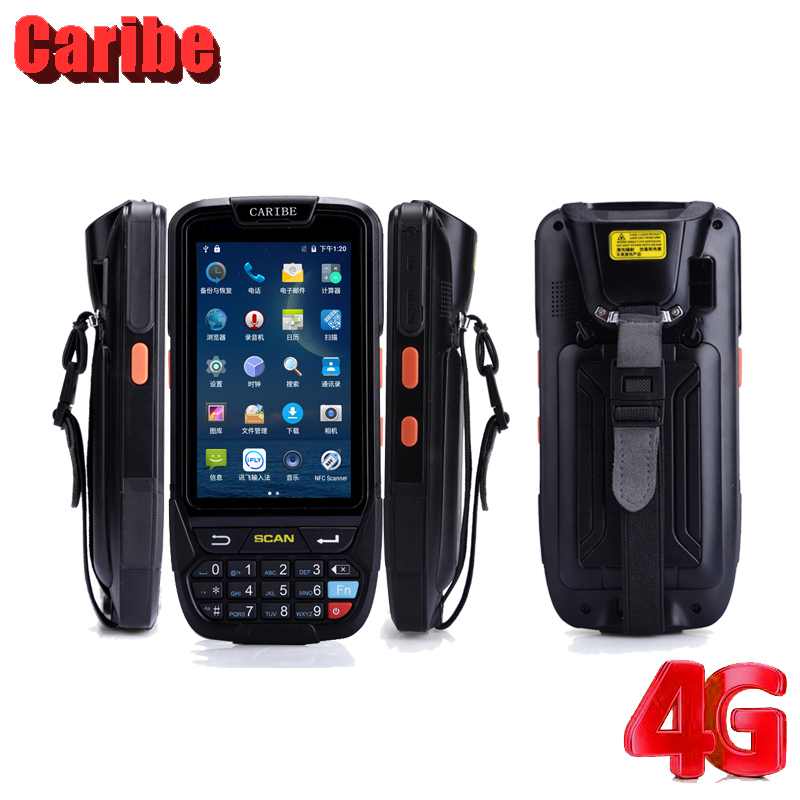 Caribe Handdled 1D штрих-код сканері Android PDA Wifi - Кеңсе электроника - фото 4