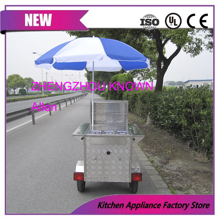 Factory price China mobile hot dog food cart for sale