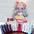 1 пара 1/8 масштаб милые ботинки обувь аксессуары для Блайт Pullip Момоко Азон Pukifee Lati-Желтый Барби кукла аксессуары