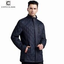 CITY CLASS NEUEN Herren Herbst Jacken Und Mäntel Business Freizeit Slim Fit Stehkragen Baumwolle Kleidung Plus Size Steppjacke 14019