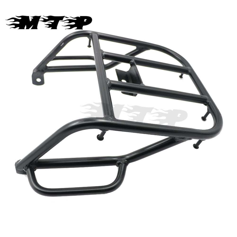 Black Motorcycle Rear Fender Shelf Rack Luggage Rack Support Shelf For Suzuki DR250 1993-2014 Motorbike Luggage Carrier partol black car roof rack cross bars roof luggage carrier cargo boxes bike rack 45kg 100lbs for honda pilot 2013 2014 2015