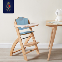 Babyfond Baby Chair Multifunctional Highchairs Adjustable Portable Baby Chair Can Become Beech Chair