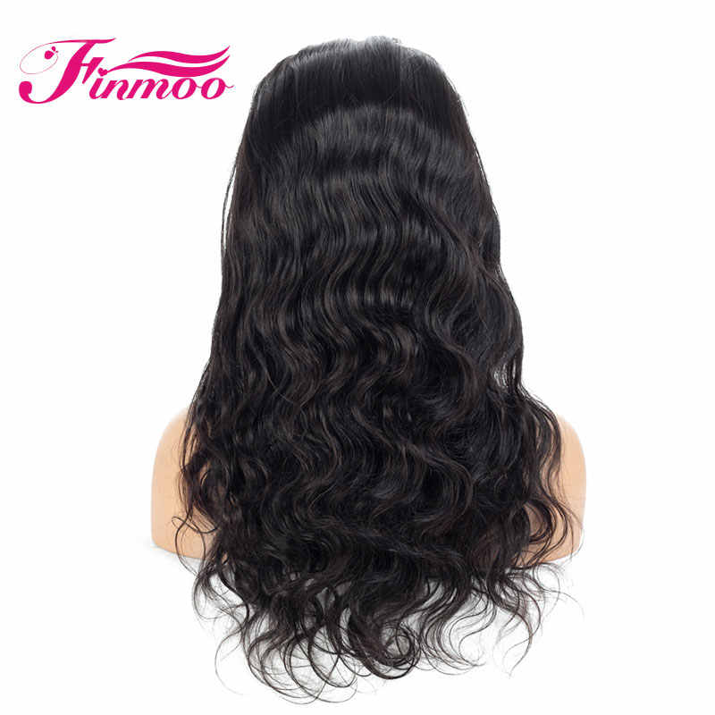 Remy Hair Pre Plucked Full Lace Wig Human Hair Wigs For Black Women 130% Density Malaysian Hair With Baby Hair Body Wave