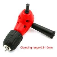 11 11 Hot Convenience Angle Adaptor 90 DEGREE Right Angle Drill Attachment 3 8 Chuck Plastic