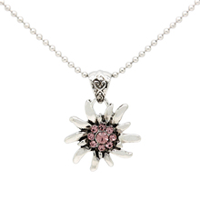 Brand Fashion Jewelry Choker Necklace Flower Pendant Long Chain Statement Necklace for Ladies FN0060 8