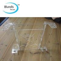 3d printer reprap mendel prusa I3 acrylic prusa i3 frame V2 laser cut frame set/kit 6mm thickness