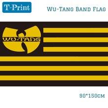 90x150cm 3x5Ft Wu Tang группа флаги полиэфирная цифровая печать баннер