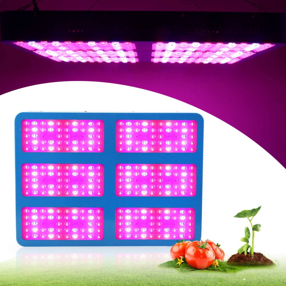 Full Specturm LED Plant Grow Light 1000W 2000W 3000W 10W Chips Plant Lamp Red Blue White UV IR  For Hydroponics and Indoor plant wholesale 300w high power led grow light red blue uv ir for hydroponics greenhouse grow tent 300w plant lamp free shipping
