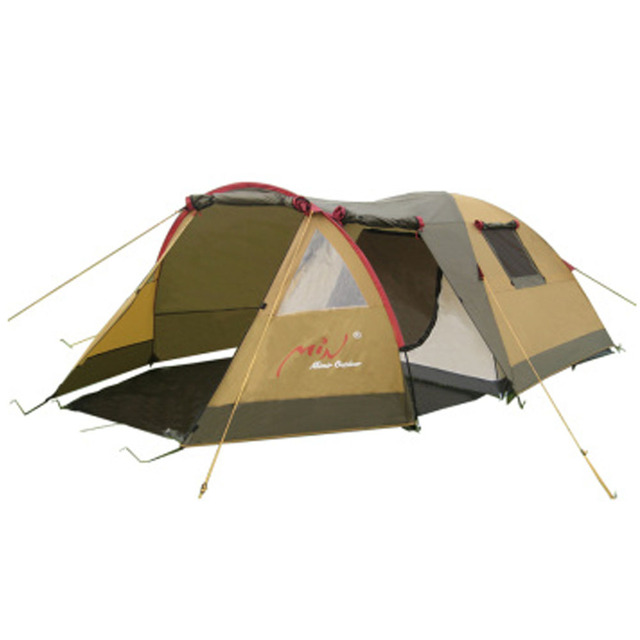 Bedroom Double Tent 3-4 People Outdoor Tent C&ing Section Against Strong Wind and Rain  sc 1 st  AliExpress.com & Bedroom Double Tent 3 4 People Outdoor Tent Camping Section ...