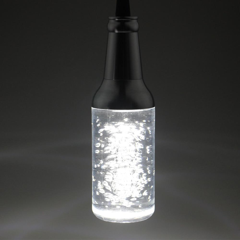 ФОТО AC85-265V Pendant Lights BAR Lamp Creative Personality 5W LED Restaurant Crystal Art Modern Bubble Crystal Bottle