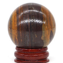 Natural Nguni Jasper Ball Mineral Quartz Sphere Hand Massage Crystal Healing Feng Shui Home Decor Accessory 40mm