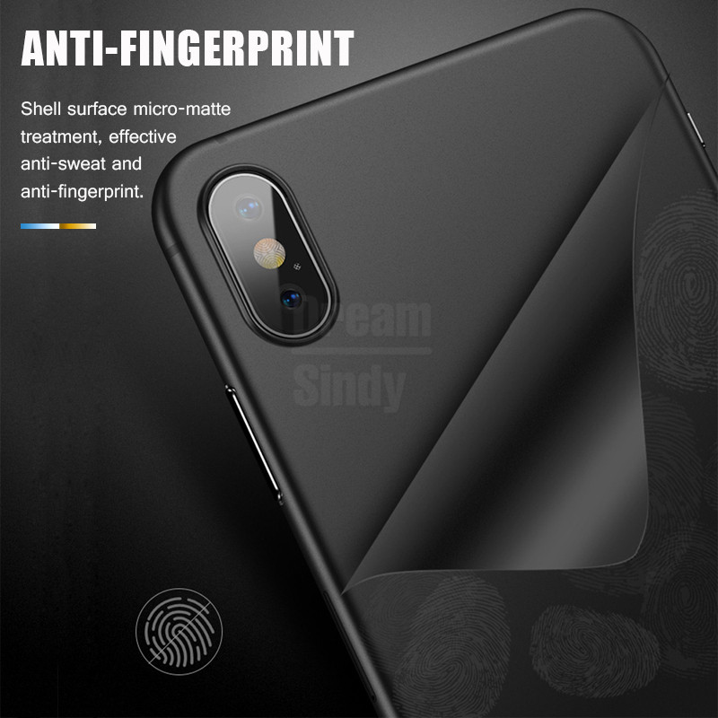 Luxury Ultra Thin 0.2mm PP Case On The For IPhone XR XS Max X Shockproof Bumper Case For IPhone 7 8 6 6s Plus Phone Case Cover