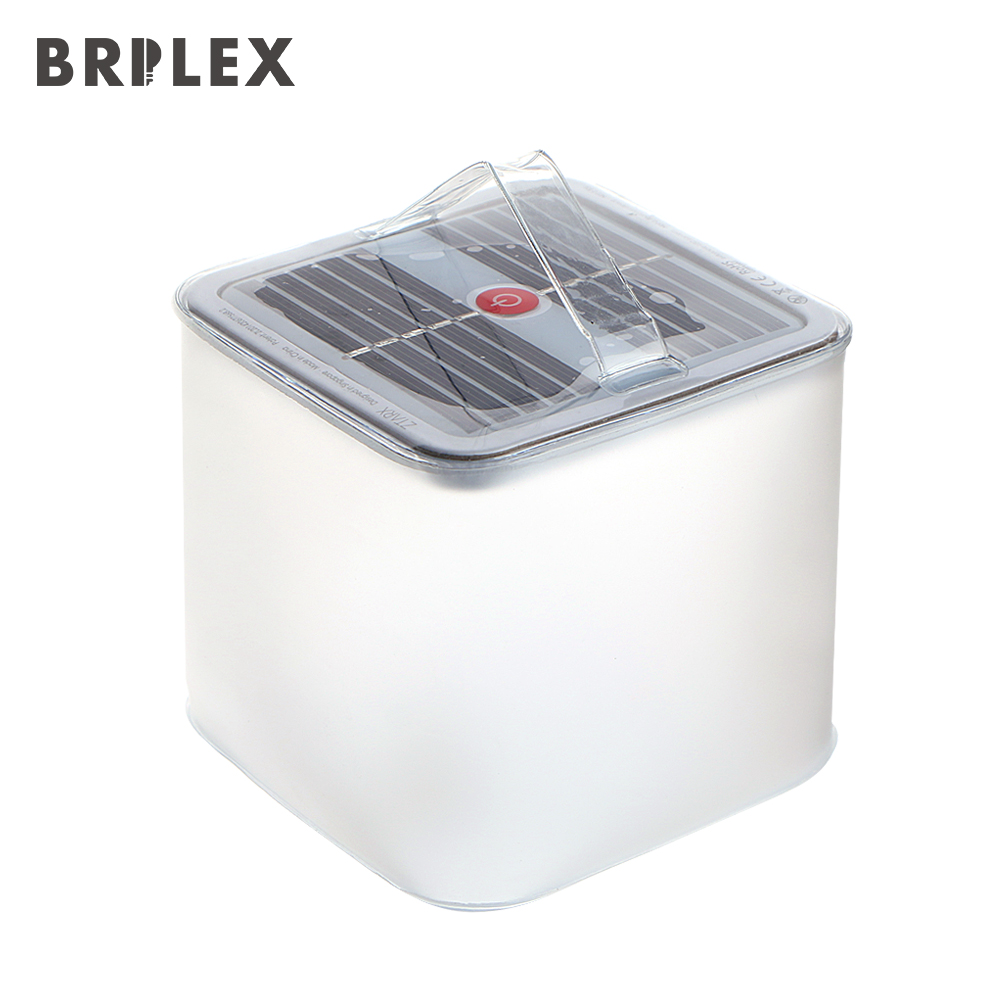BRILEX Solar Light IP67 Waterproof  Solar Lights Portable Collapsible and Inflatable Solar Light Lamp 4 Lighting Modes Lamp.