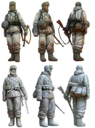 1/35 Figura In Resina Tedesco Panzergrenadiers 1 pc Modello Kit