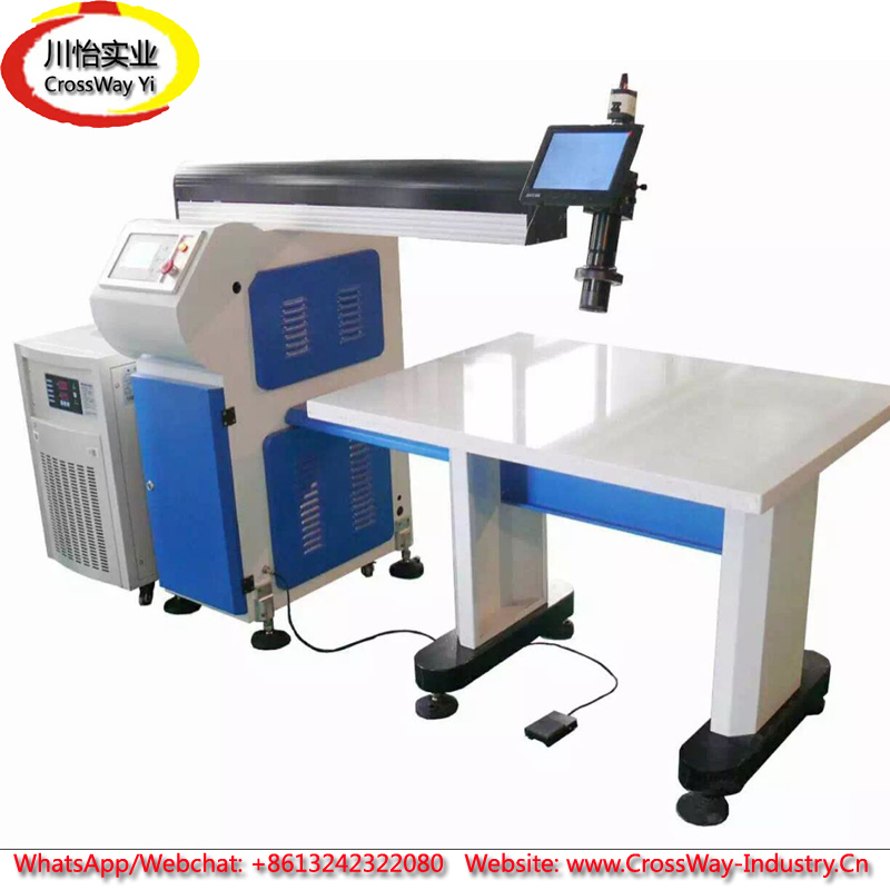 Купить с кэшбэком Metal Stainless Steel Aluminum Channel Letter Laser Welding Machine
