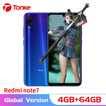 "Versión Global xiaomi Redmi Note 7 4GB RAM 64GB ROM Smartphone Snapdragon 660 Octa Core 6,3 ""19,5: 9 Pantalla Completa 48MP Cámara Dual(China)"