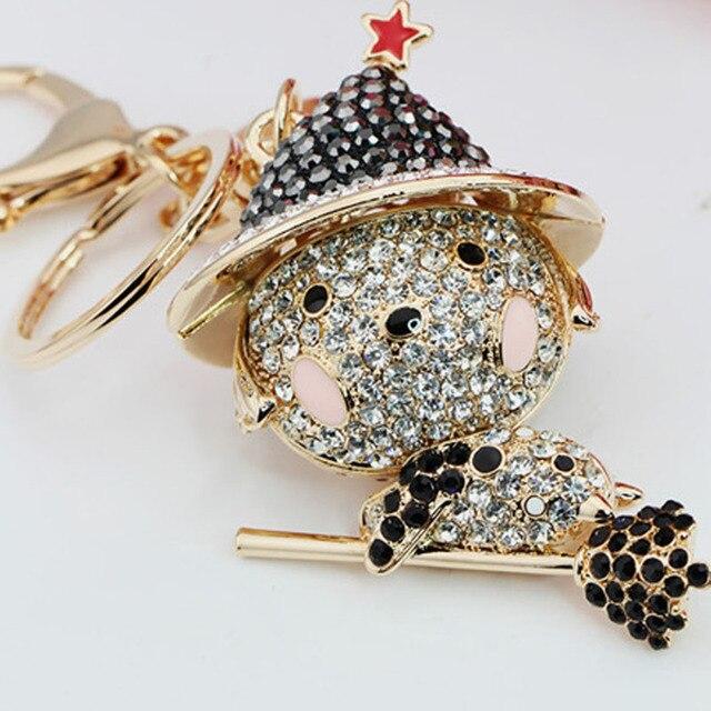 2016 fashion animal keychain for woman gift jewelry magic dog keychain llaveros mujer keychian llavero star wars friendship