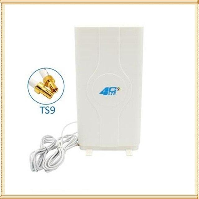 4G LTE גבוהה רווח mimo פנל כיוונית אנטנה TS9 עבור huawei E5776 E5786 E5377 E5372 E5573 E589 Aircard AC779S AC810S