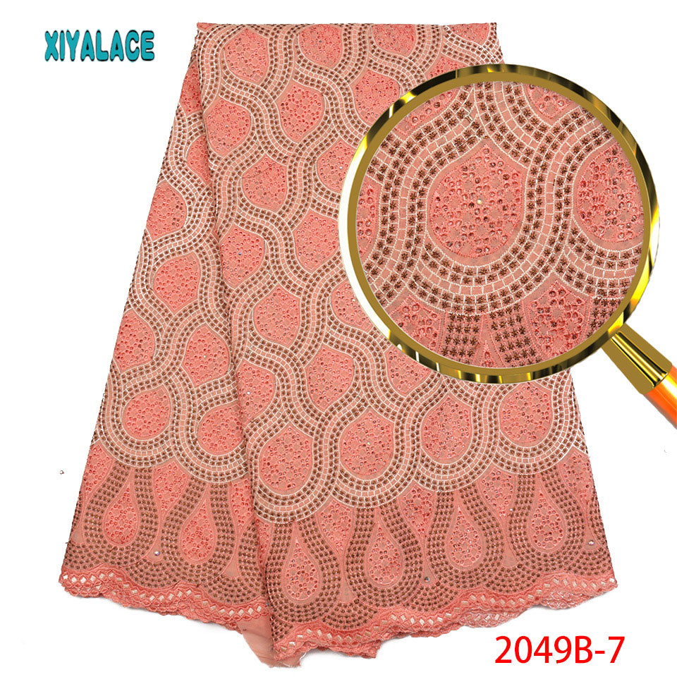 Hot Swiss Voile Lace In Switzerland High Quality Nigerian Cheap Lace Material African Swiss Dry Lace