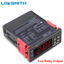 LEDSMITH LED Digital Temperature Controller STC-1000 12V 24V 220V Thermoregulator thermostat With Heater And Cooler cheap Standing Station 1 9 Inches Under Charger 70°C- 99°C Acquarium Greenhouse Aquaculture Warehouse -50℃-99℃ 0 1 ° C