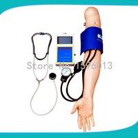 Braço de treinamento de pressão arterial  pressão arterial sistólica  pressão arterial diastólica e valores da taxa de pulso|value|pulsevalue outlet -