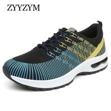Hombre Zapatos Casual Otoño Estilo con cordones de Moda los Colores Mezclados de Goma Transpirable Plana Jóvenes Zapatos Al Aire Libre de Los Hombres Directos venta