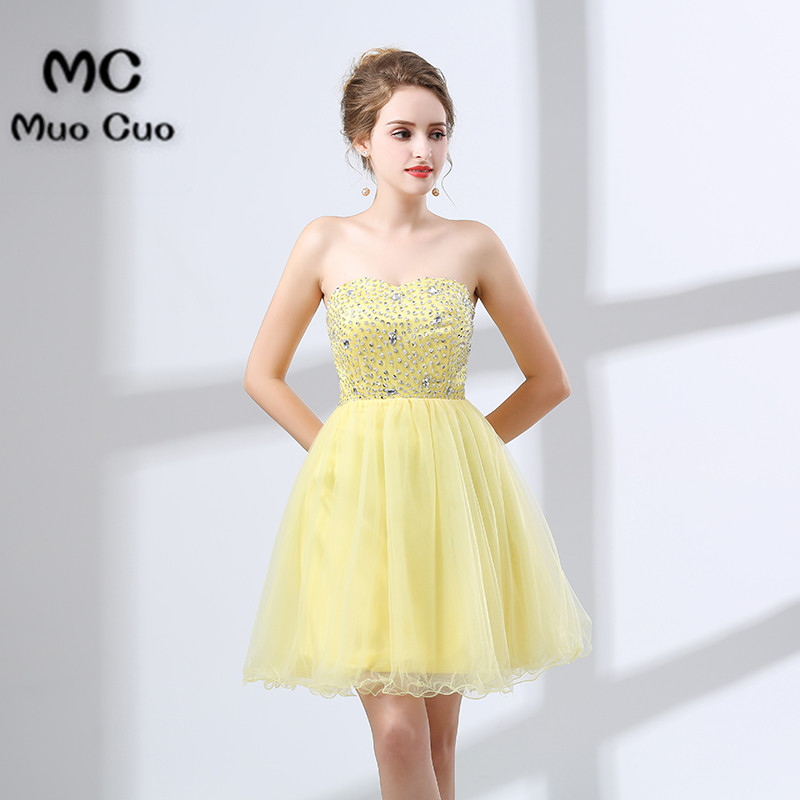 2018 Strapless Homecoming   Dresses   Short Off Shoulder   cocktail     dress   short Girl   Dress   for women new Crystals   Cocktail     Dresses