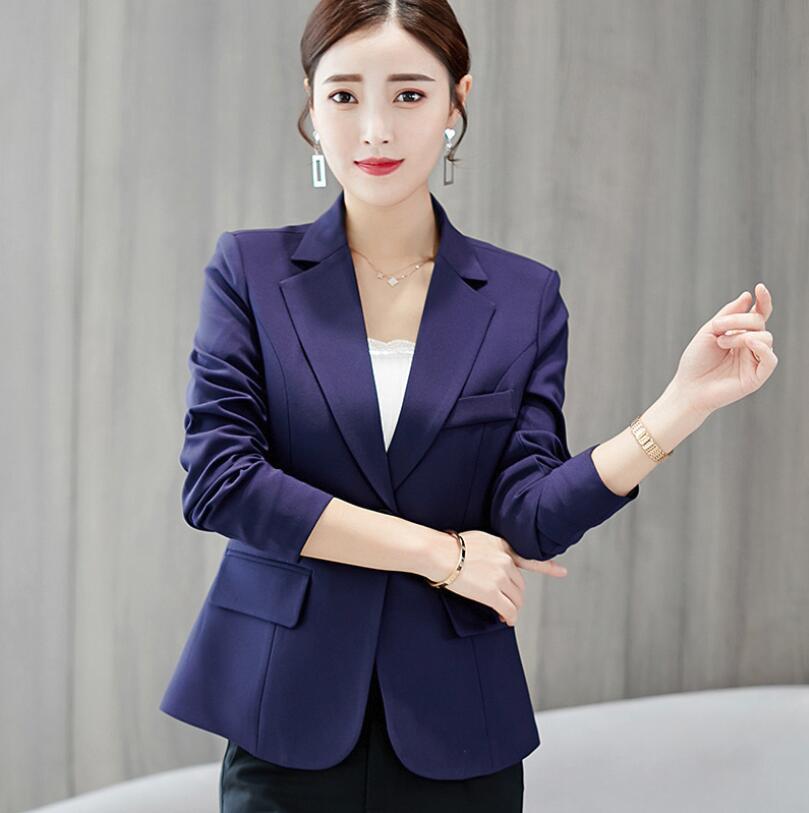 7c3abb05dcd2a Chaquetas Chaqueta de lana de las mujeres de moda de invierno collar  dentado cinturón slim traje