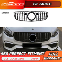 GT grille For GLS class X166 GT Grille for Mercedes Benz GLS class GLS300 GLS350 front grille of SUV Auto front grille