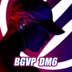 Image 5 - 2019 BGVP DM6 5BA dostosowana słuchawka hi fi słuchawka Monitor w uchu zbalansowana armatura słuchawka kabel MMCX wymienny kabel